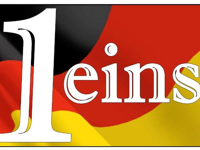 German number line