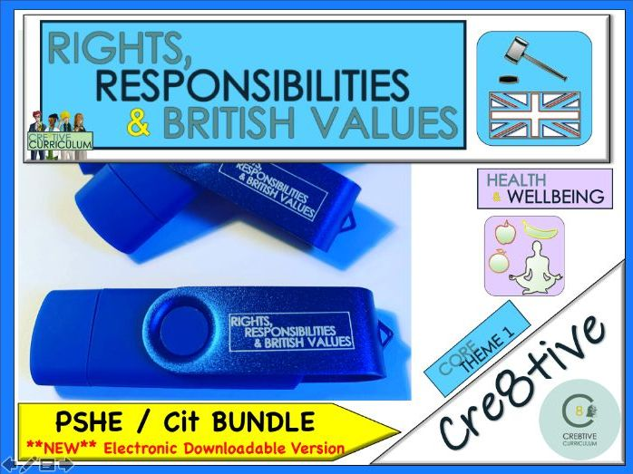PSHE Secondary Resources - Blue