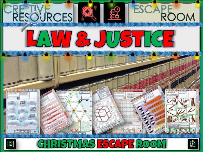 Law Christmas Escape room