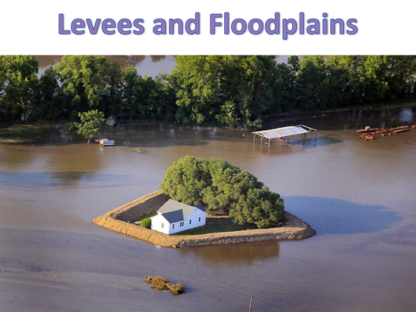 KS3 Rivers - Lower Course: Levees and Floodplains
