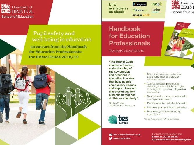 Pupil safety and well-being in education - guidance on teachers' statutory responsibilities & rights