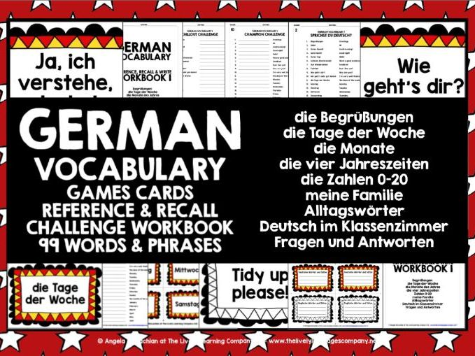 GERMAN VOCABULARY 1