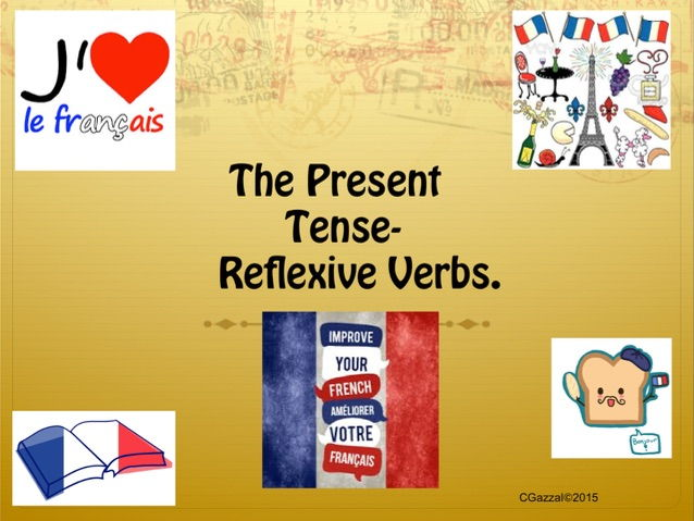 A Complete Guide to Reflexive Verbs in the Present Tense in French.