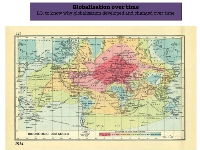 Edexcel A Level Geography Globalisation - Full Sequence of Lessons
