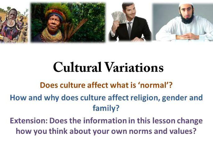 Lesson 4) Global Citizenship and Fundamental British Values: Cultural Diversity
