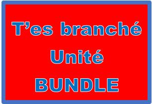T'es branché 3 Unité 4 Bundle