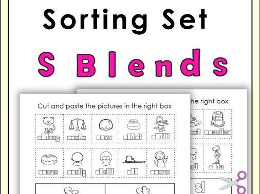 S Blends Sorting Set