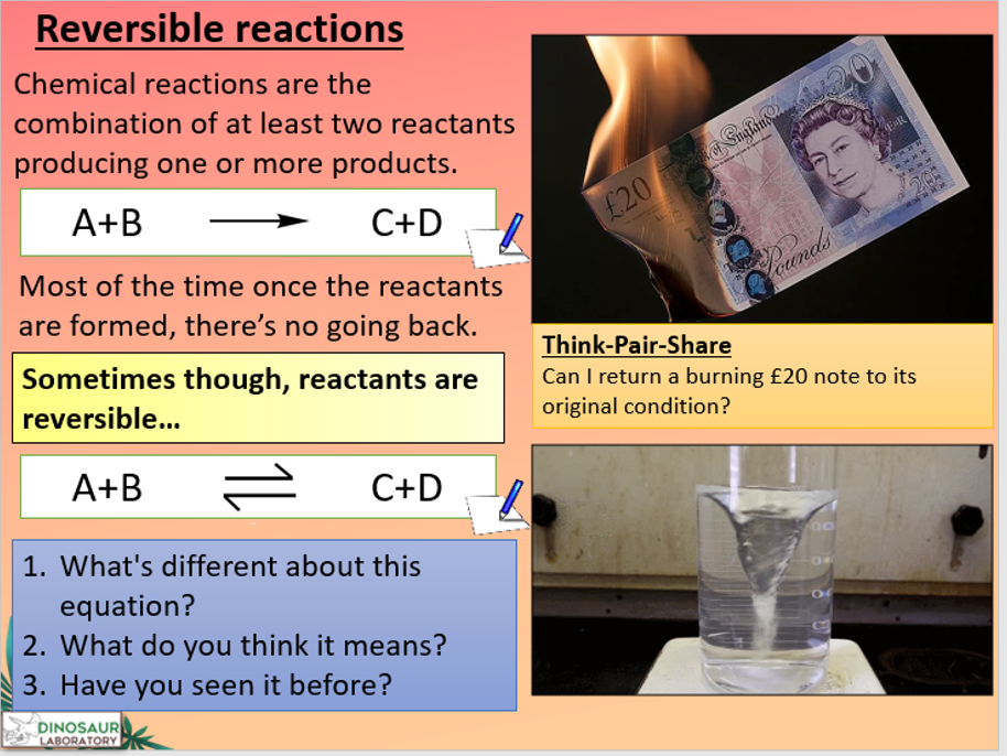 KS4 C8.6 Reversible Reactions