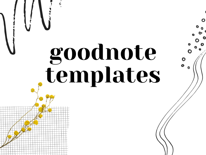 Goodnote Planning Templates