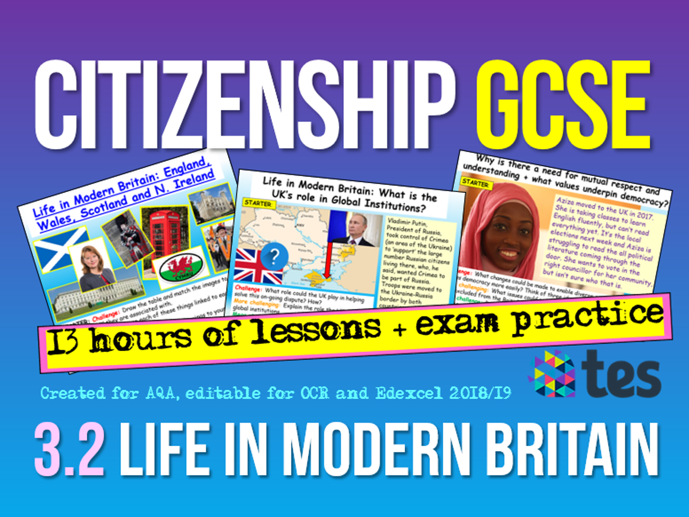 Citizenship GCSE 9-1 Life in Modern Britain