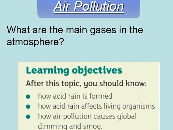 B18.3 Air pollution (biodiversity and ecosystems)