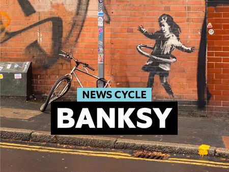 News Cycle | Banksy: artist or vandal?