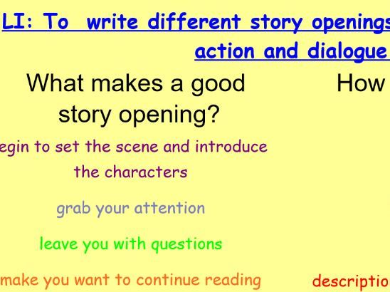Quest Stories (Year 5) English