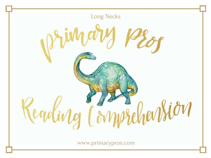 Year 3 & 4 Reading Comprehension - Long Necks