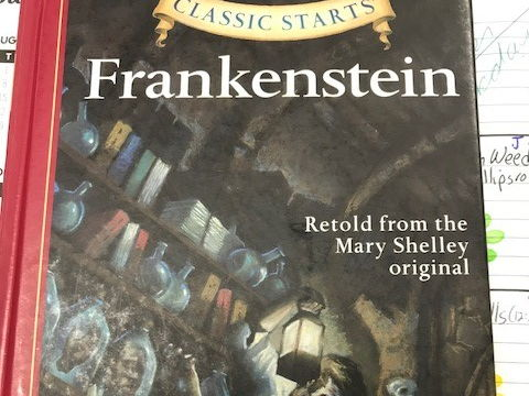 Frankenstein Ch. Short Answer Questions from Classic Starts Book