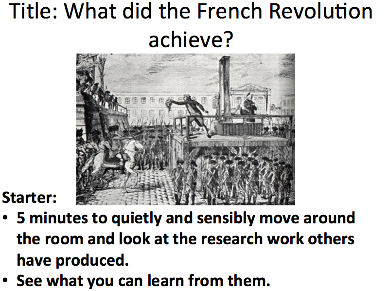 French Revolution - Lesson 2 please review if you download