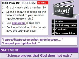 AQA RS Theme C: Arguments from Science against the existence of God