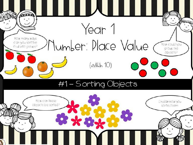 Year 1 - Place Value - Counting objects