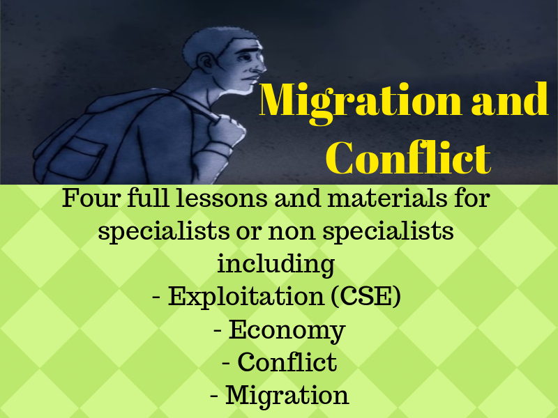 Migration and Conflict - 4 Lessons and Resources