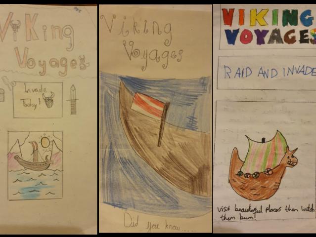 Year 5/6 Persuasive Writing Unit : Viking Voyages Leaflet and Room 101