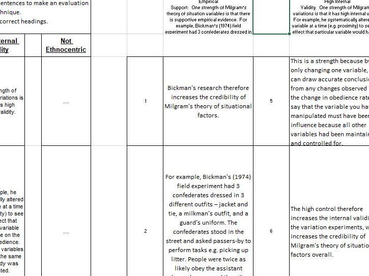 Evaluation of Studies - PEEL
