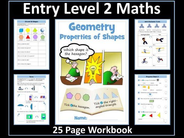 Geometry - AQA Entry Level 2 Maths