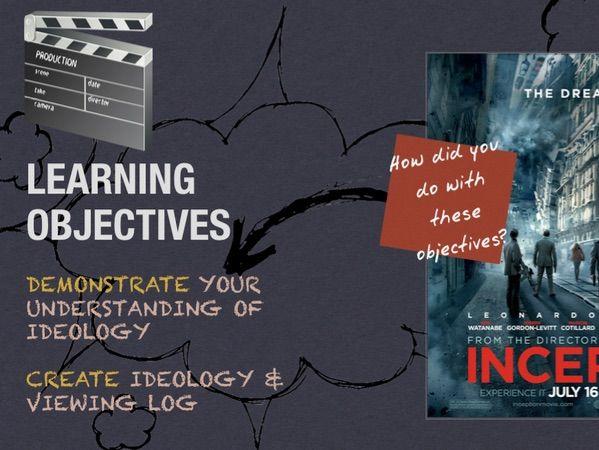 EDUQAS FILM STUDIES - A Level (Inception & Boyhood) - Lesson 1