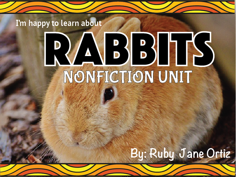 Rabbit Nonfiction Unit