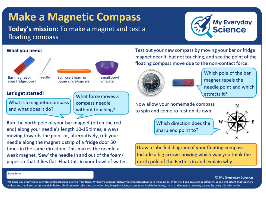 Y3 Forces & Magnets My Everyday Science