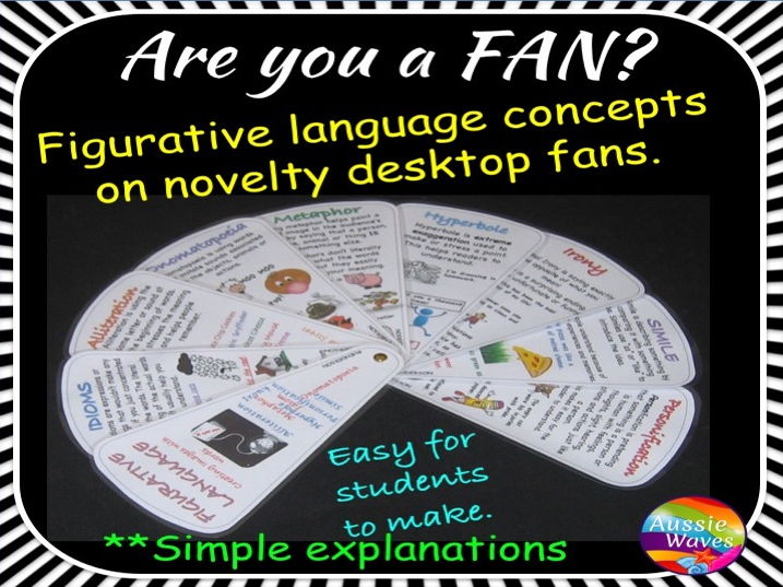 Fan Memory Prompt ... A Figurative Language Tools to Explain and Improve Writing Skills