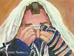 (10.4) Judaism - Daily services and prayer (tallit and telfillin) - 42 slides.