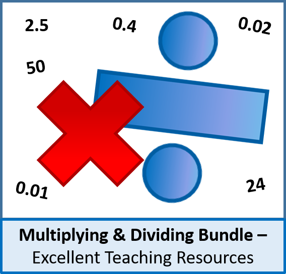 Number: Multiplying and Dividing Bundle (6 lessons) - pefect for KS2 / KS3
