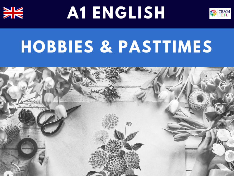 Hobbies and Pastimes A1 Lesson Plan | Distance Learning | Google Apps
