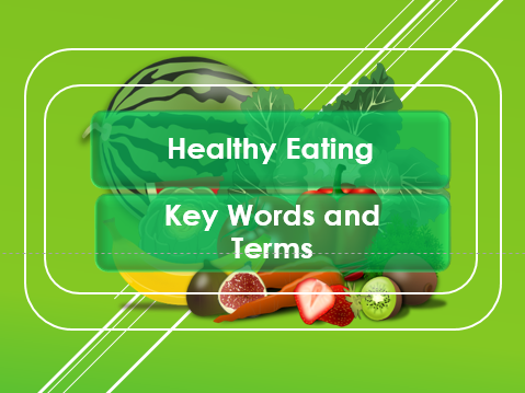 PSHE: Healthy Eating: Nutrition Awareness