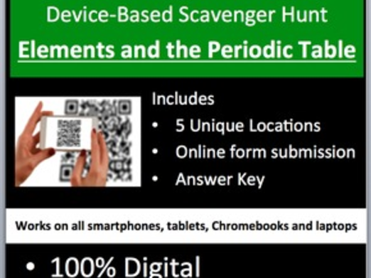 Elements and the periodic table device based scavenger hunt cover image urtaz Choice Image