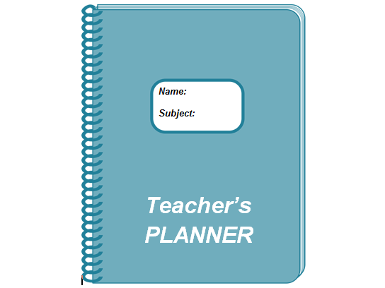 Electronic Teacher Planner