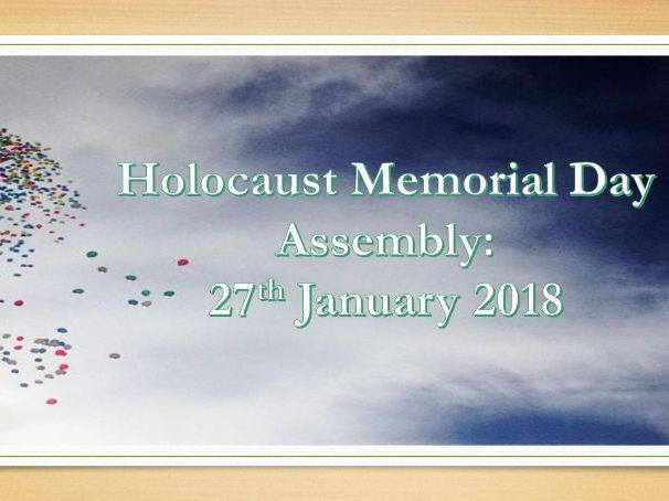 Assembly: Holocaust Memorial Day 2018