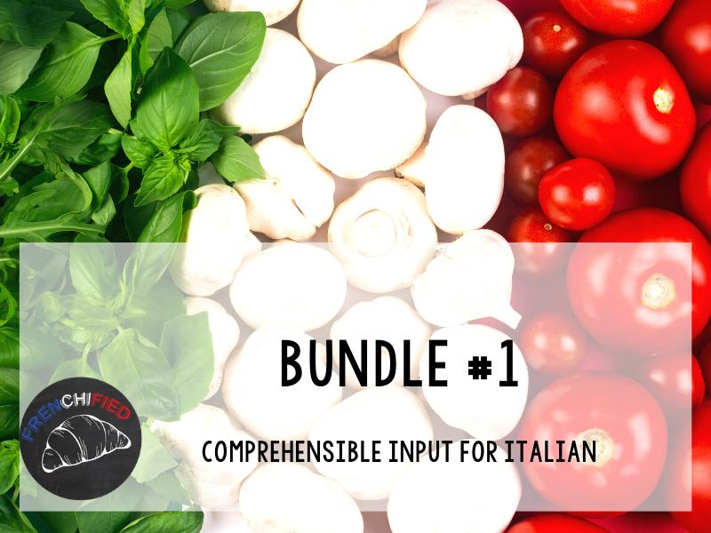CI Video for Italian learners - Bundle #1
