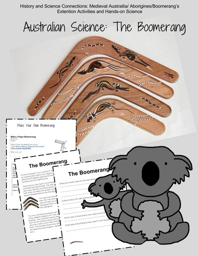 Boomerang: Australian Science Activity