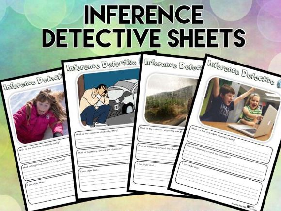 Inference Detective Sheets