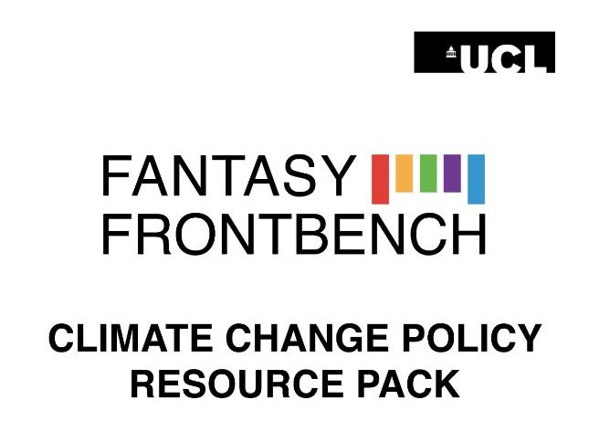 Fantasy Frontbench Climate Change Policy Resource Pack