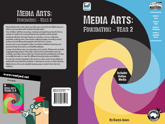 Media Arts: Foundation – Year 2 (Australian E-book)