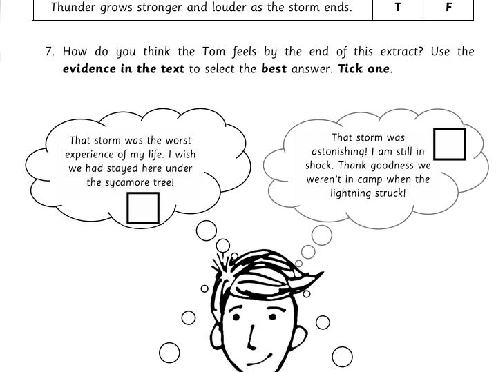 Upper KS2 Reading Comprehension