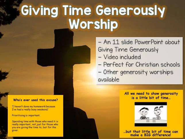 Giving Time Generously - Worship