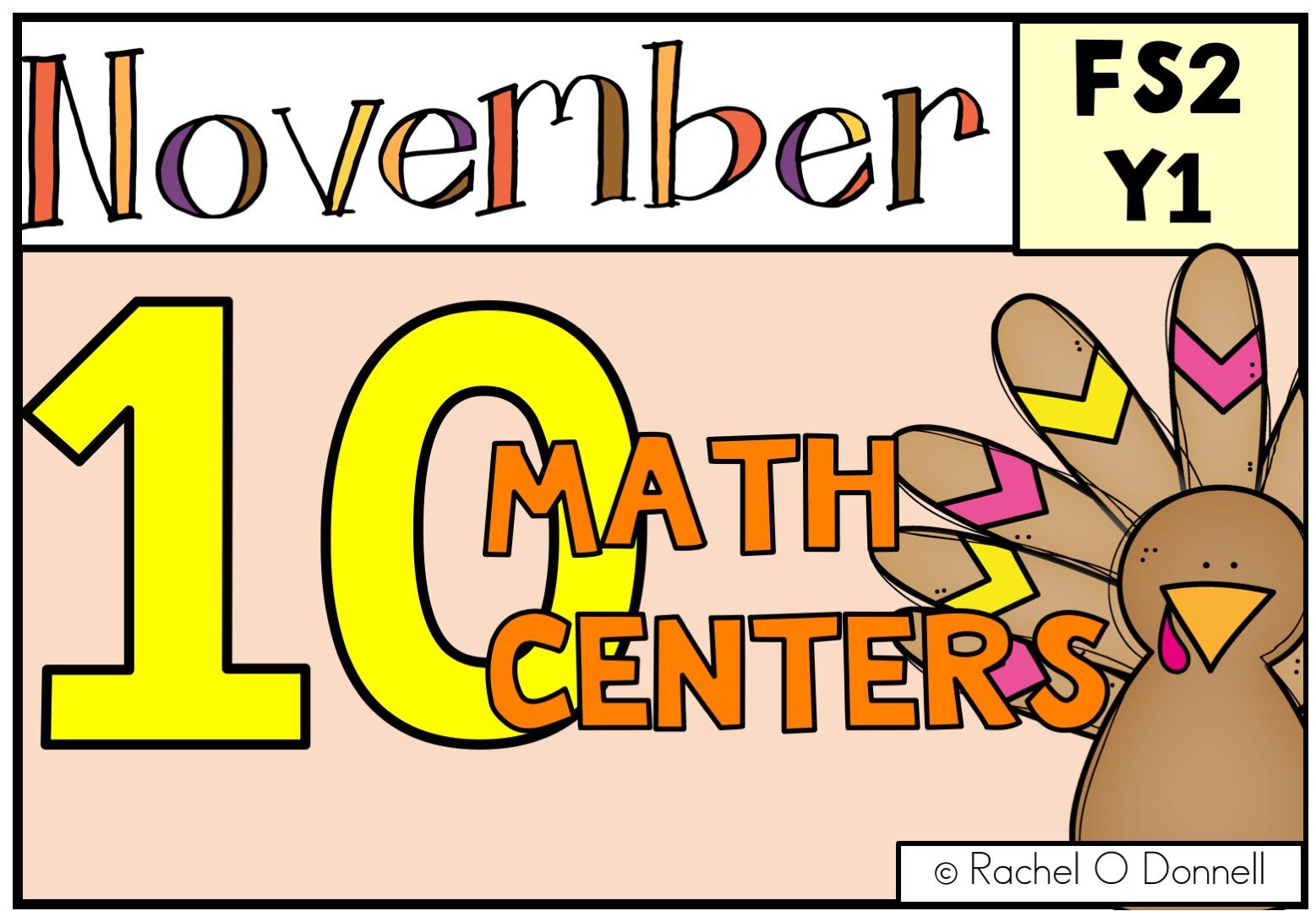 November Maths FS2 YEAR 1
