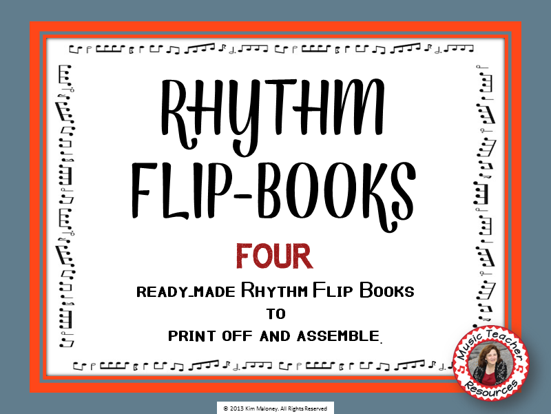 RHYTHM Flip Books