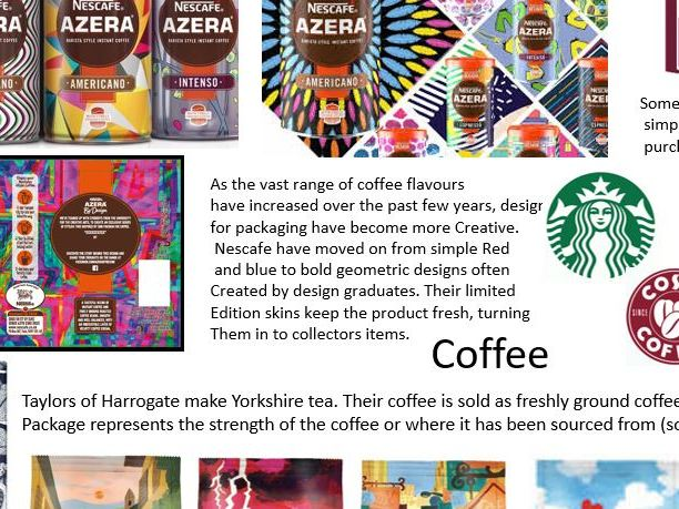 Hot Beverages - graphics based project