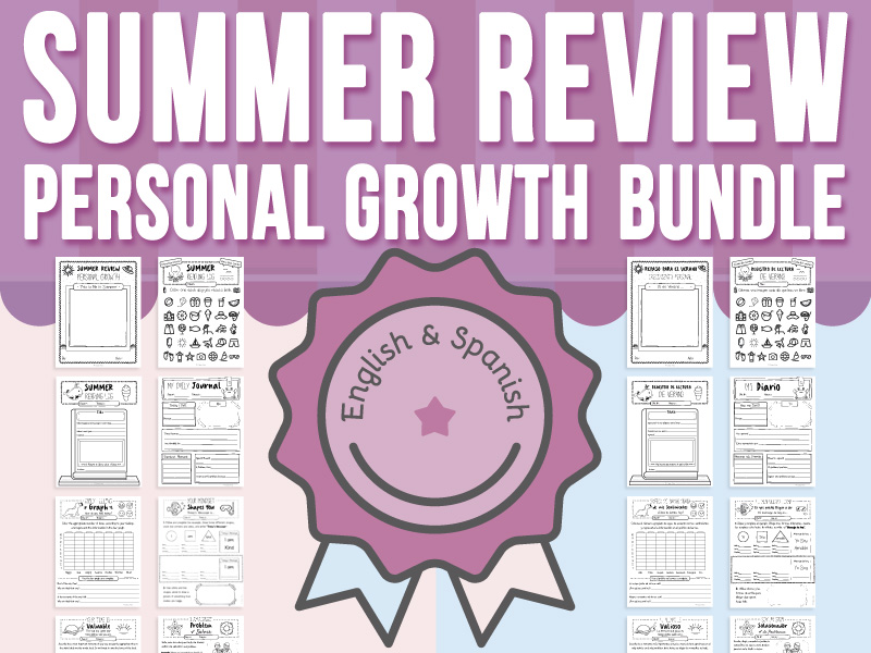 Summer Review - Personal Growth BUNDLE