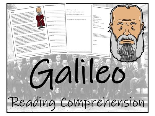 UKS2 Science - Galileo Reading Comprehension Activity