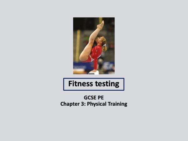 GCSE 9-1 PE - Fitness Testing lesson